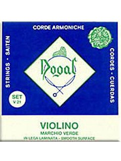 Dogal: Green Series Violin String Set  | Violin