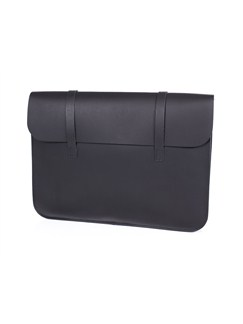 Leather Music Case: Black  |