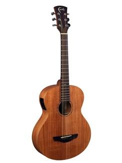 Faith: Nomad Mini Neptune Travel Electro-Acoustic Guitar With Gig Bag - Mahogany Instruments | Electro-Acoustic Guitar