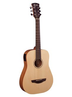 Faith: Nomad Mini Saturn Travel Electro-Acoustic Guitar With Gig Bag Instruments | Electro-Acoustic Guitar