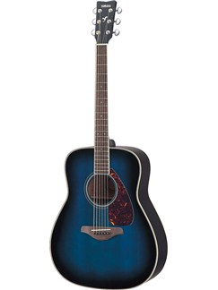 Yamaha: FG720S Acoustic Guitar (Oriental Blue Burst) Instruments | Acoustic Guitar