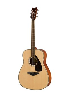 Yamaha: FG820 Acoustic Guitar - Natural Instruments | Acoustic Guitar
