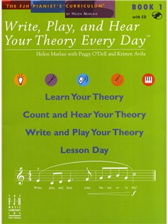 Helen Marlais: Write, Play And Hear Your Theory Every Day - Book 1 Books and CDs |