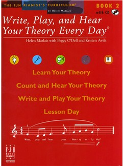 Helen Marlais: Write, Play And Hear Your Theory Every Day - Book 2 Books and CDs |