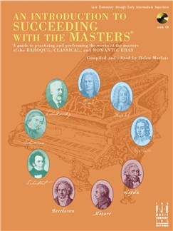 An Introduction To Succeeding With The Masters Books and CDs | Piano