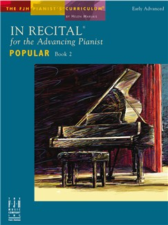 In Recital For The Advancing Pianist - Popular Book 2 Books | Piano