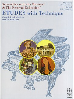 Helen Marlais: Etudes With Technique - Preparatory Books | Piano