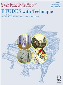 Etudes With Technique - Book 1 Books | Piano