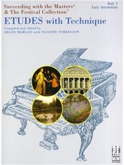 Helen Marlais: Etudes With Technique - Book 3 Books | Piano