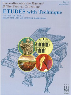 Helen Marlais: Succeeding With The Masters & The Festival Collection - ETUDES With Technique Books | Piano