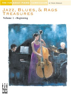 Jazz, Blues & Rags Treasures - Volume 1 Books | Piano