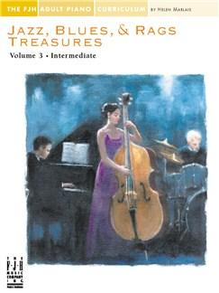Jazz, Blues & Rags Treasures - Volume 3 Books | Piano
