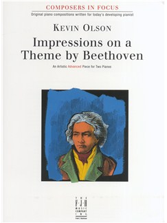 Kevin Olson: Impressions on a Theme by Beethoven Books | Two Pianos