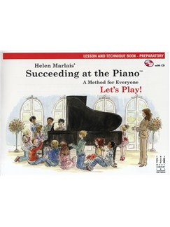 Helen Marlais: Succeeding At The Piano - Preparatory Level Lesson And Technique (Book/CD) Books and CDs | Piano