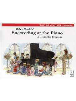 Helen Marlais: Succeeding At The Piano - Preparatory Level Theory And Activity Book Books | Piano