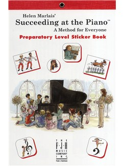 Helen Marlais: Succeeding At The Piano - Preparatory Level Sticker Book Books | Piano