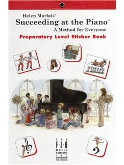 Helen Marlais: Succeeding At The Piano - Preparatory Level Sticker Book Books   Piano