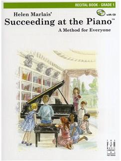 Helen Marlais: Succeeding At The Piano - Grade 1 Recital Book Books and CDs | Piano