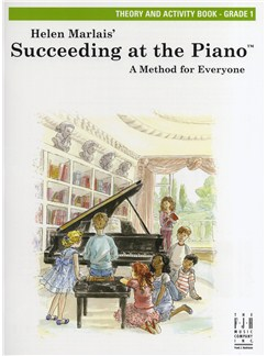 Helen Marlais: Succeeding At The Piano - Grade 1 Theory And Activity Book Books | Piano