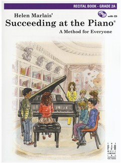 Helen Marlais: Succeeding At The Piano - Grade 2A Recital Book/CD Books and CDs | Piano