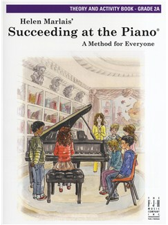 Helen Marlais: Succeeding At The Piano - Grade 2A Theory And Activity Book Books | Piano