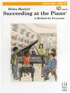 Helen Marlais: Succeeding At The Piano - Grade 2B Recital Book/CD Books and CDs | Piano