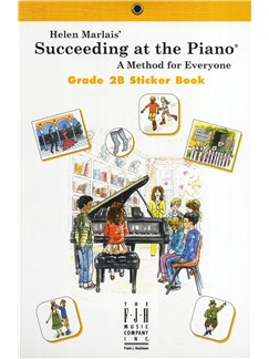 Helen Marlais: Succeeding At The Piano - Grade 2B Sticker Book Books | Piano