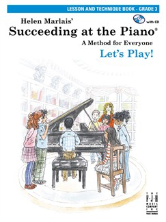 Helen Marlais: Succeeding At The Piano - Grade 3 Lesson And Technique (Book/CD) Books and CDs | Piano