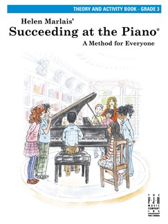 Helen Marlais: Succeeding At The Piano - Grade 3 Theory And Activity Book Books | Piano