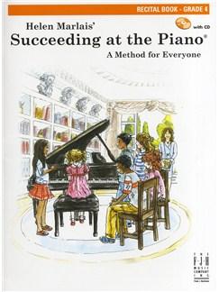 Helen Marlais: Succeeding At The Piano - Grade 4 Recital Book Books | Piano