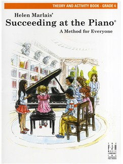 Helen Marlais: Succeeding At The Piano - Grade 4 Theory And Activity Book Books | Piano
