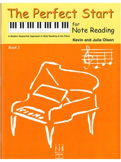 Kevin Olson/Julia Olson: The Perfect Start For Note Reading - Book 1 Books | Piano