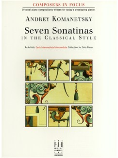 Andrey Komanetsky: Seven Sonatinas In The Classical Style Books | Piano