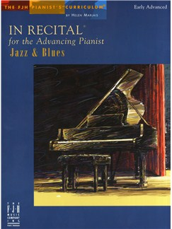 In Recital Advancing Pianist - Jazz & Blues Books | Piano