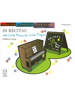 In Recital With Little Pieces For Little Fingers - Children's Songs Books | Piano