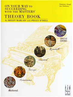 On Your Way To Succeeding With The Masters - Theory Book Books | Piano