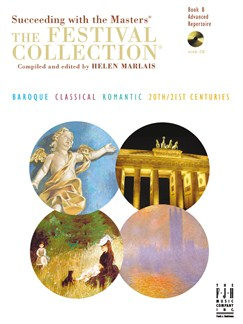 Succeeding With The Masters: The Festival Collection Book 8 Books and CDs | Piano