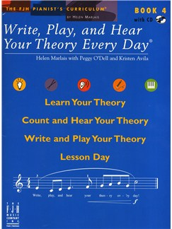 Helen Marlais: Write, Play And Hear Your Theory Every Day - Book 4 Books and CDs |