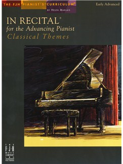 In Recital For The Advancing Pianist - Classical Themes Books | Piano