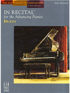 In Recital For The Advancing Pianist - Duets Books | Piano