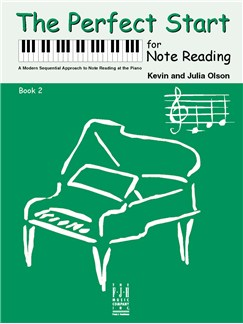 Kevin Olson/Julia Olson: The Perfect Start For Note Reading - Book 2 Books | Piano
