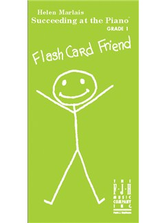 Helen Marlais' Succeeding At The Piano: Grade 1 - Flash Card Friend  | Piano