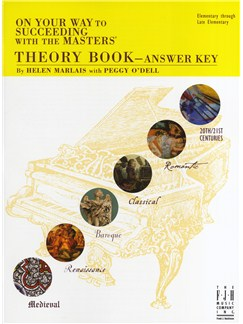 On Your Way To Succeeding With The Masters - Theory Book Answer Key Books | Piano