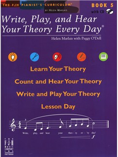 Helen Marlais: Write, Play And Hear Your Theory Every Day - Book 5 Books and CDs |