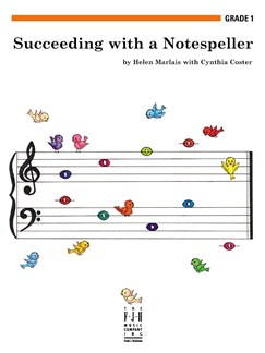 Helen Marlais/Cynthia Coster: Succeeding With A Notespeller - Grade 1 Books | Piano