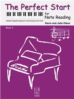 Kevin Olson/Julia Olson: The Perfect Start For Note Reading - Book 3 Books | Piano