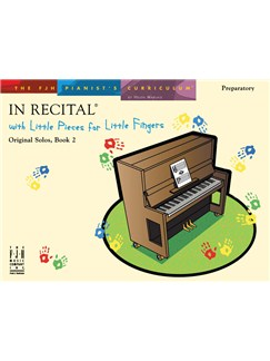 In Recital With Little Pieces For Little Fingers - Original Solos Book 2 Books | Piano
