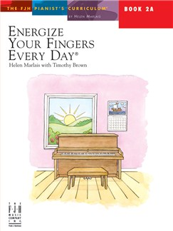Helen Marlais: Energize Your Fingers Every Day - Book 2A Books | Piano
