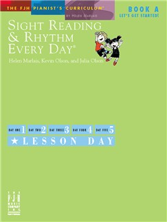 Sight Reading & Rhythm Every Day - Book A (Let's Get Started) Books | Piano