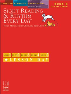 Helen Marlais, Kevin Olson And Julia Olson: Sight Reading & Rhythm Every Day - Book B Books | Piano